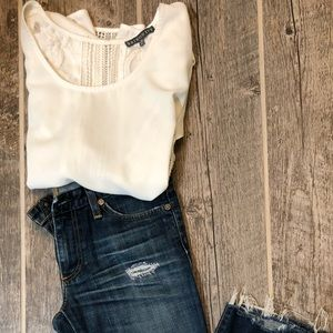 Brixon Ivy short sleeve blouse size S